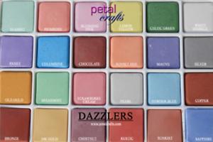 WAFER PETAL DUST PALETTE DAZZLER COLORS 24 COLORS