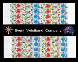 100-x-Bubblegum-Tyvek-party-security-event-school-wristbands