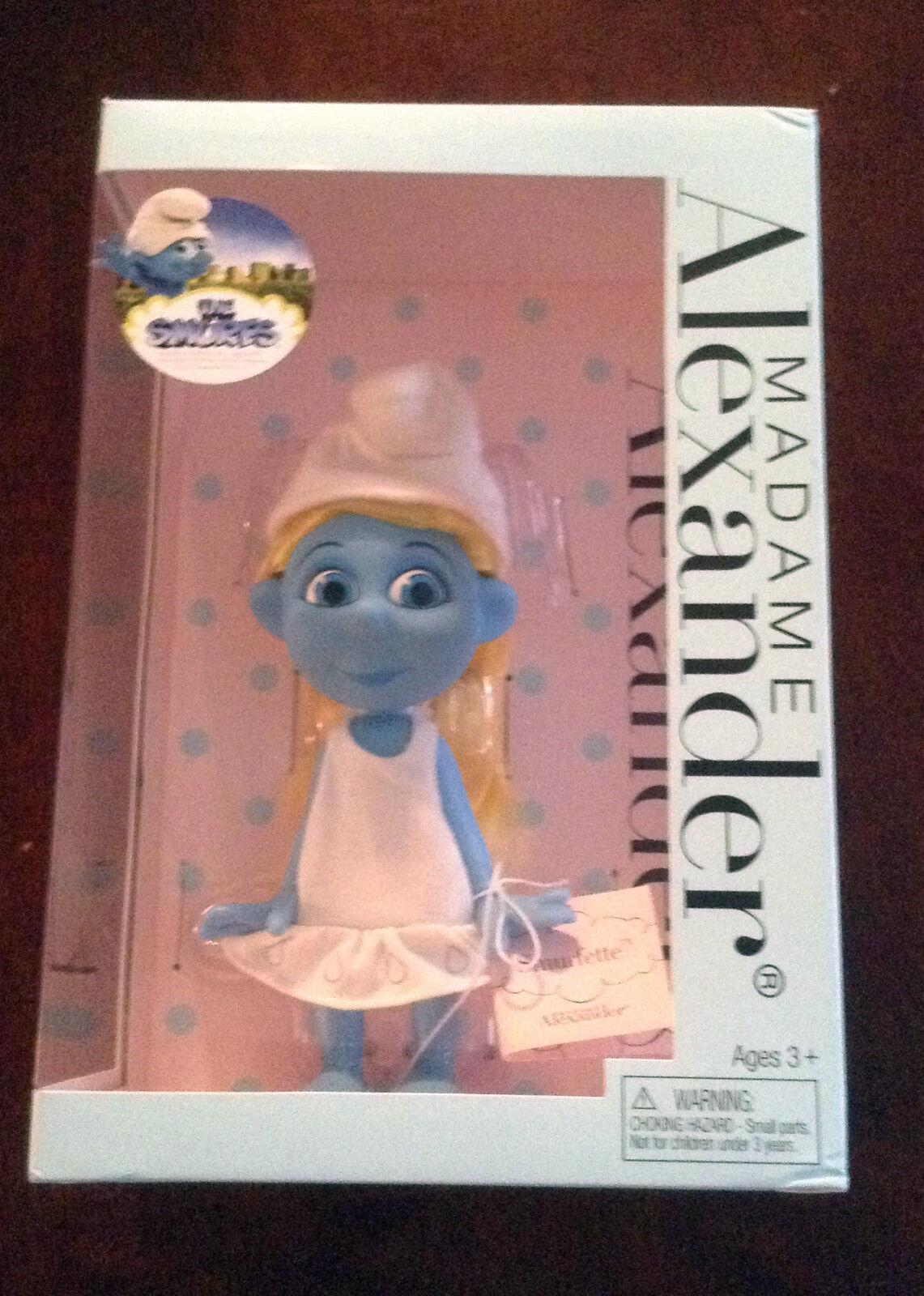 2012 Spring edizione Madame  Alexeer Smurfs Smurfette bambola RARE Collectible  goditi il 50% di sconto