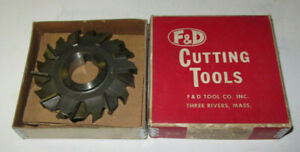 F-amp-D-K-422-USA-61-3-1-2-034-Diameter-7-16-034-Face-1-034-Arbor-Woodruff-Cutting-Tool