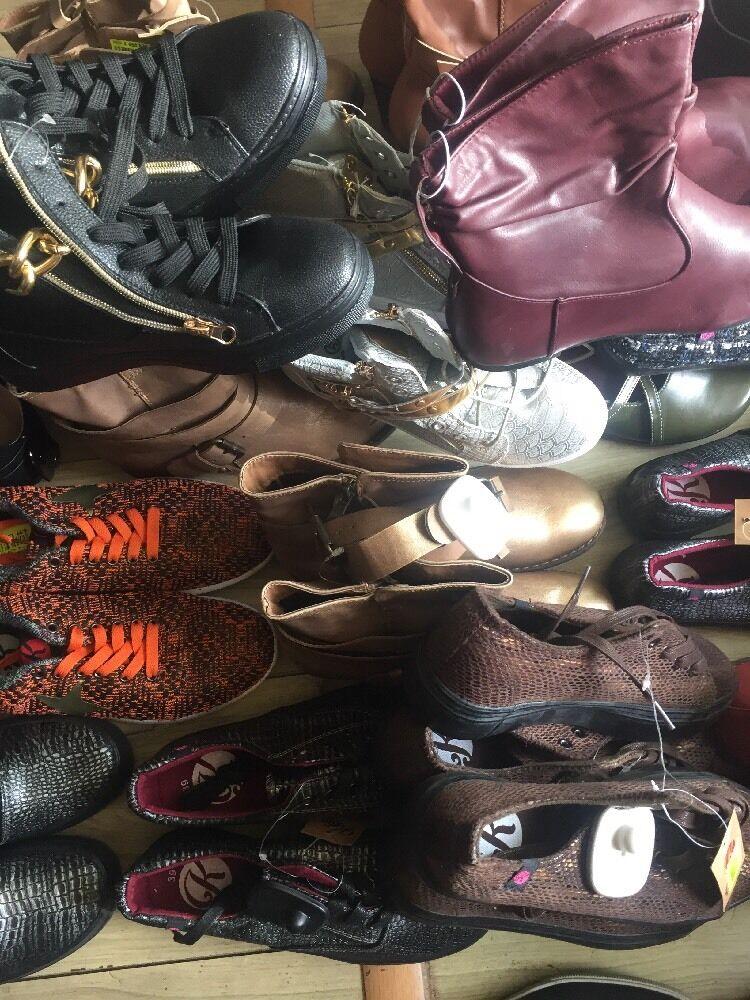 Lot Revendeur Destockage De 25 Paires De shoes Neuves