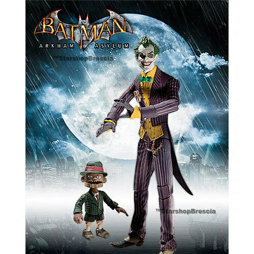 BATMAN - Arkham Asylum serie 1 The Joker with Scarface Wirkung Figure Dc Direct