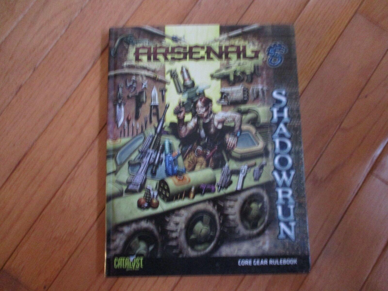 Shadowrun 4th Ed Arsenal 1st impresión HC