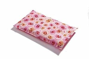 50 6x9 Pale Pink Roses Designer Mailers Poly Shipping Envelopes Boutique Bags