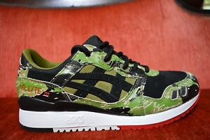 23f091345e309 ASICS TIGER × ATMOS GEL-LYTE III 3 FOR GREEN CAMO HK724-8890 Red ...