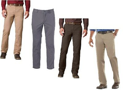 Croft Barrow Classic Flat Front Expandable Waist Pants size 34 36 38 40 42 NEW