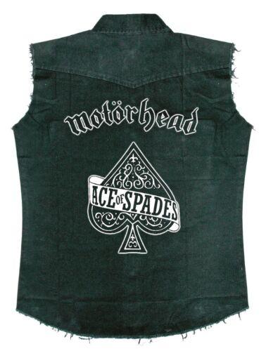 """MOTORHEAD /""""Ace of Spades/'s Sans Manches Chemise de travail-NOUVEAU /& OFFICIEL!"""