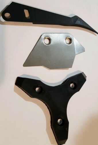 HOPPER TUNEUP KIT KNIFE AGITATOR RUBBER STAR IGT Bally /& MORE COIN DEFLECTOR