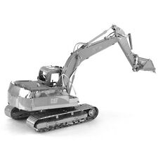 Fascinations Metal Earth 3D Laser Cut CAT Caterpillar EXCAVATOR Puzzle Model Kit