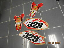 2010-2013 CRF 250R 09-12 CRF450R SIDE PANEL DECALS REAR FENDER DECAL GRAPHICS