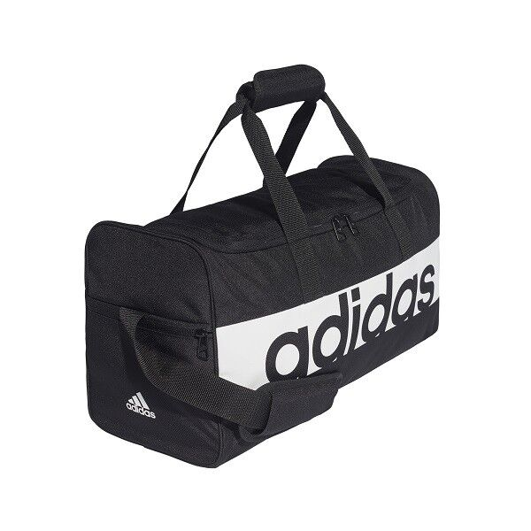 4b33eb951dc83b adidas Duffle Bag Linear Performance Medium Black Article S99959 for sale  online | eBay