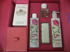 Crabtree &  Evelyn ROSEWATER Luxuries Gift Set 5 Pieces Box Free Shipping