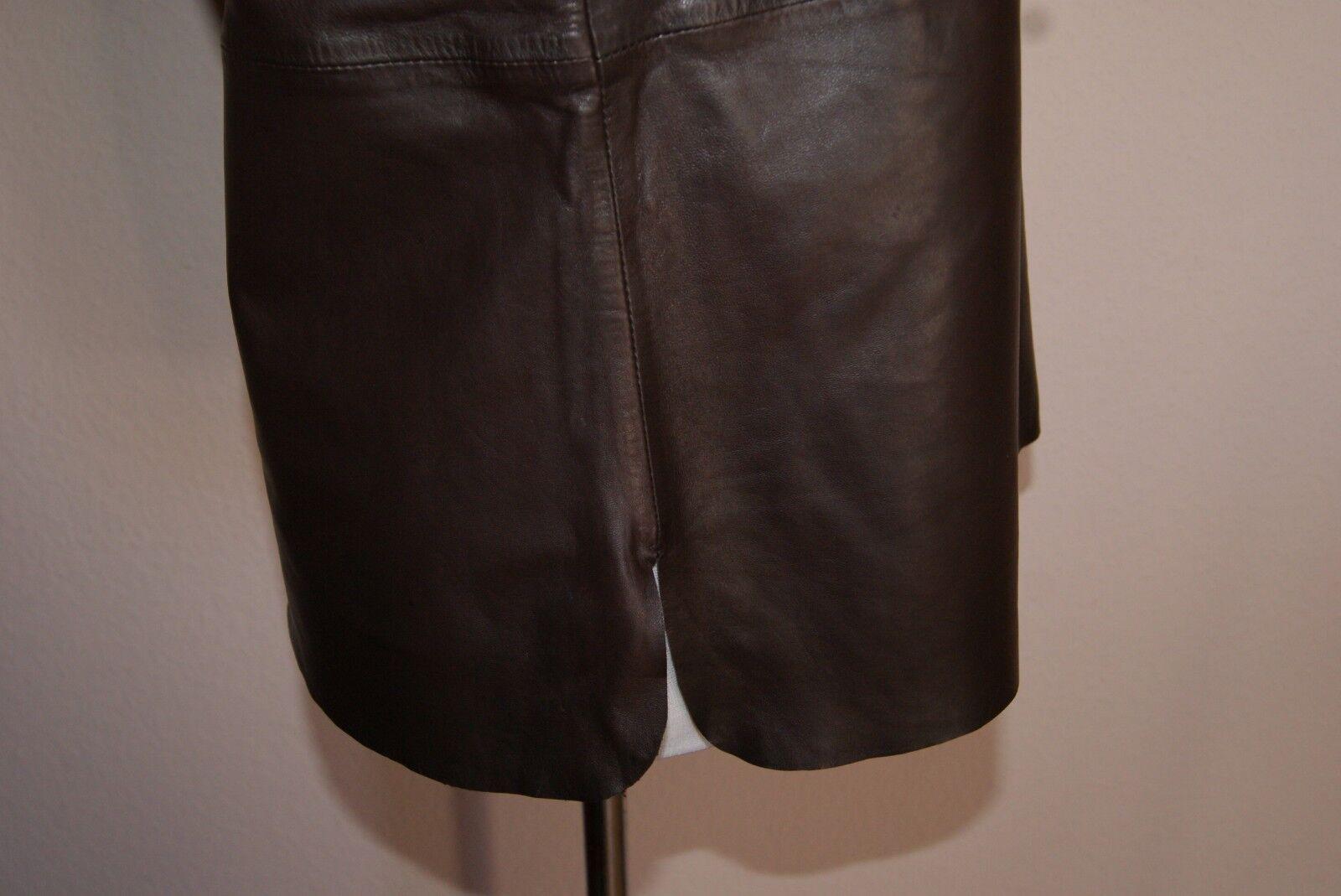 SET Ledertop Ledertop Ledertop Gr 36 S OUISET Oui Hemd Ledershirt Top Leder Blause Lederhemd NEU | Meistverkaufte weltweit  52db60