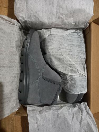 Skechers jupá botas talla 4 en gris oscuro