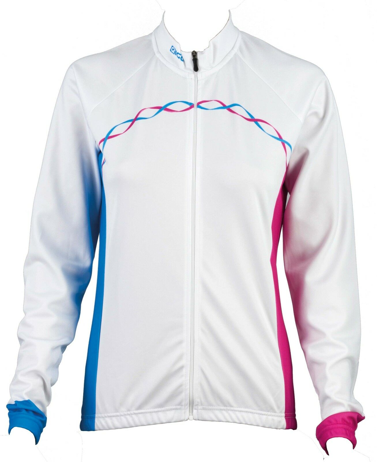 NEW EIGO RIBBON MTB ALL ROAD XC BIKE CYCLING LONG SLEEVE LADIES JERSEY Weiß