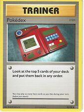 POKEMON XY evoluzioni Card-Pokedex 82/108