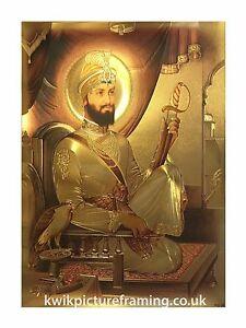 Guru-Gobind-Singh-Ji-Sikh-Gurus-Photo-Picture-Frames-Framed-16-034-X-12-034-inches