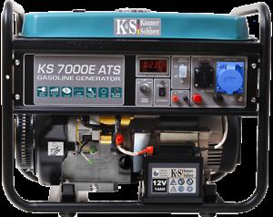 K/&S Benzin 230V Stromaggregat KS7000E ATS 5,5KW Stromerzeuger Könner /& Söhnen