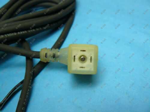 Canfield 5J4F4-251-US0A Sub Micro 9.4MM Solenoid Valve Connector Lighted 24V 15F