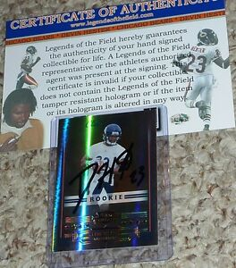 Image is loading Chicago-Bears-Devin-Hester-Autographed-23-Signed-Rookie- 8f3da83fe
