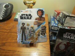 2-Figure Pack 3.75 inches New Star Wars Resstance JAREK YEAGER /& BUCKET R3-B7