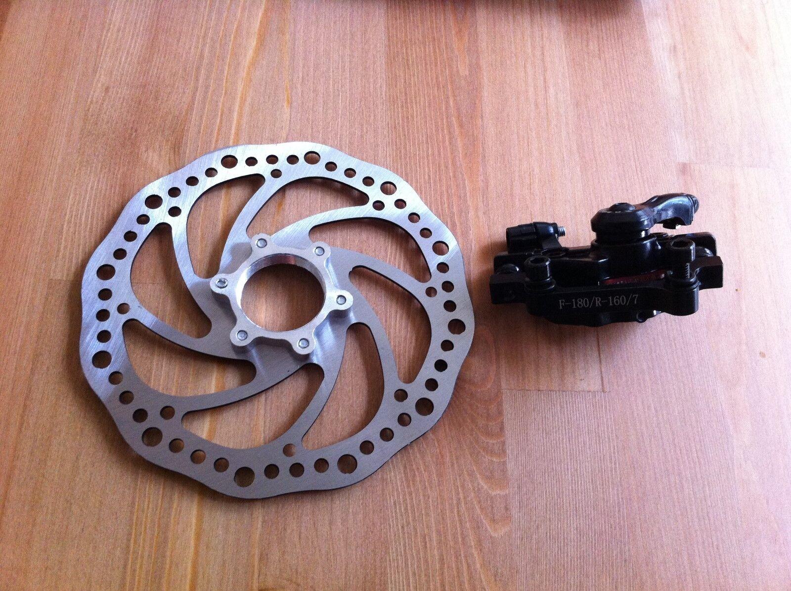 Bicycle Disc Brake Rotor Caliper Adapter Kit Cruiser Chopper Chopper Chopper MTB Motorized Bikes d87410