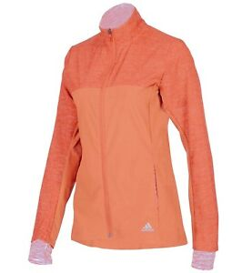 Details about Ladies Women's New Adidas Storm Track Tracksuit Top Athletic Running Jacket
