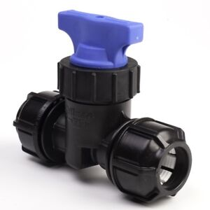 MDPE 32mm Stop Tap Valve for Water Pipe FREE NEXT DAY DELIVERY