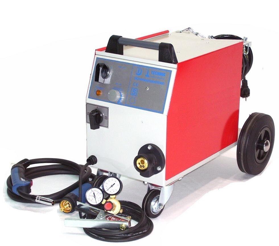 Schutzgas Schweißgerät Schweissgerät MIG 182/6 25-180A MAG , 230 + 400 Volt