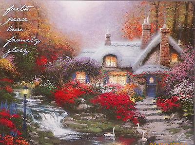 PUZZLE..JIGSAW....KINKADE....Hidden Messages Puzzle...Swanbrooke Cottage..750 Pc