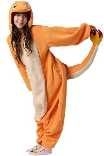 Anime pokemon Charizard jumpsuit,pajamas pyjamas costume kigurumi charmander cos