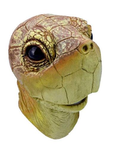 Qualität ganzer Kopf Latex Gummi Schildkröte Kostüm Maske NEU
