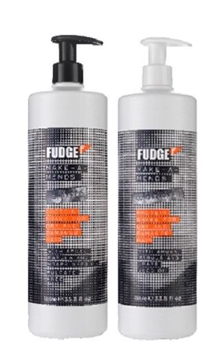Fudge Make A Mends Shampoo Sulfate Free 1000ml & Conditioner 1000ml