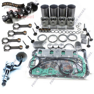 Details about Isuzu 4JB1 2 8L Rebuild Kit&Crankshaft&Oil Pump&Connect Rods  For Mustang Bobcat
