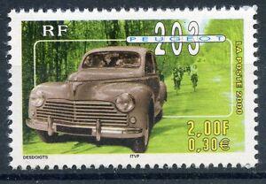 Stamp / Timbre France Neuf N° 3324 ** Voiture / Peugeot 203 DernièRe Technologie