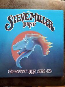 The Steve Miller Band, Greatest Hits 1974-78, SOO-11872, Capitol,VG-VG+,Vinyl LP