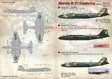 Print Scale Decals 1//72 MARTIN B-57 CANBERRA Jet Bomber Part 1