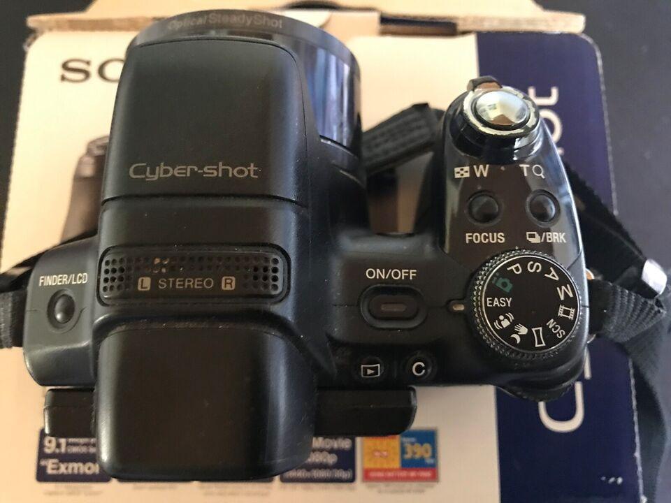 Compactcamera, Sony, Cyber-shot DSC-HX1