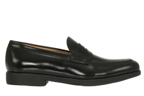 Nieuw Salvatore Sole Loafers Leather Black Ee Ferragamo Extralight 11 Lucky yPvmNO0w8n