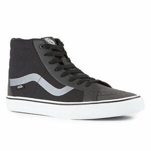 Details about VANS SK8 Hi Reissue DX (Rapidweld) Black UltraCush MEN S  Skate Shoes Size 8 b4fb83c54
