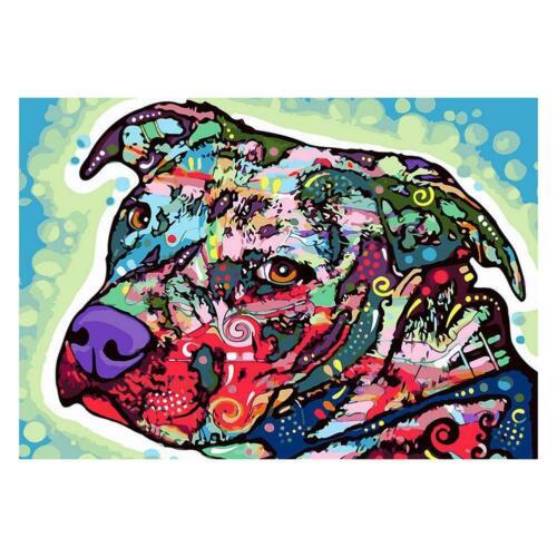 5D DIY Full Drill Diamond Painting Animals Cross Stitch Embroidery Mosaic Craft