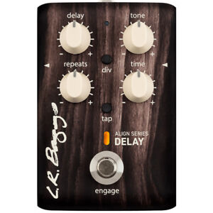 lr baggs align series delay acoustic electric guitar effect pedal 897042002266 ebay. Black Bedroom Furniture Sets. Home Design Ideas