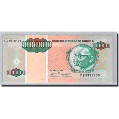 Angola 1995 1995-05-01 Skilful Manufacture Rapture Km:141 1,000,000 Kwanzas Reajustados #600254