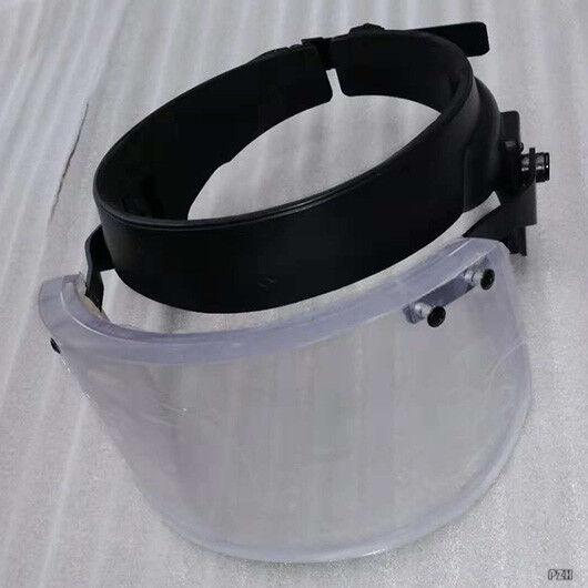 Tactical Bulletproof Ballistic Helmet Visor Mask Lvl IIIA 3A