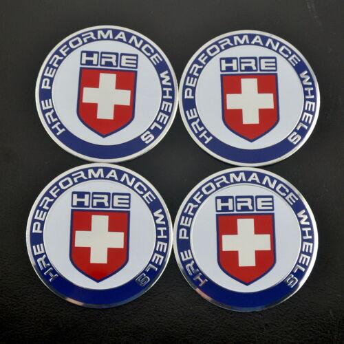 4x 65mm Performance Wheel Center Emblem Decal For E30 E46 E60 E90 RS2M P1SC S2H