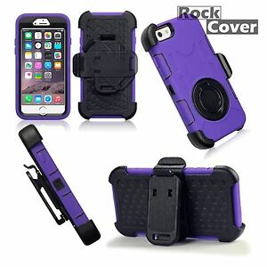 Apple-iPhone-6-s-Rugged-Case-Military-Tech-Survival-Industrial-Rock-Purple-Blue