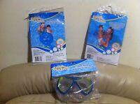 Splash N Swim Child Swim Mask , Ring And Arm Bands Combo Blue Color