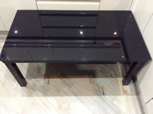 Modern-Coffee-Table-Black-Glass-Black-Metal-Frame-Rectangle