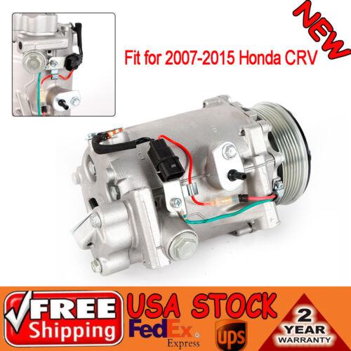 Air Conditioner Compressor fit for 2007-2015 Honda CRV//2013-2015 Acura ILX 2.4L