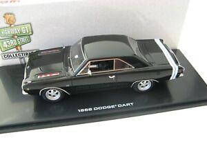 Dodge-Dart-GTS-1968-Negro-Brillante-1-43-Highway-61